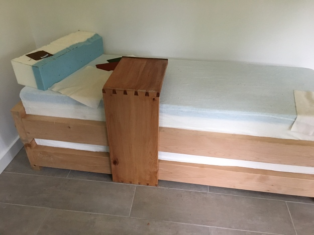 Shed Bed and Table