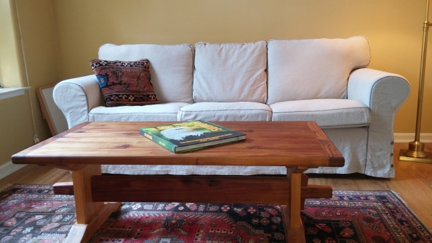 IKEA Sofa and table